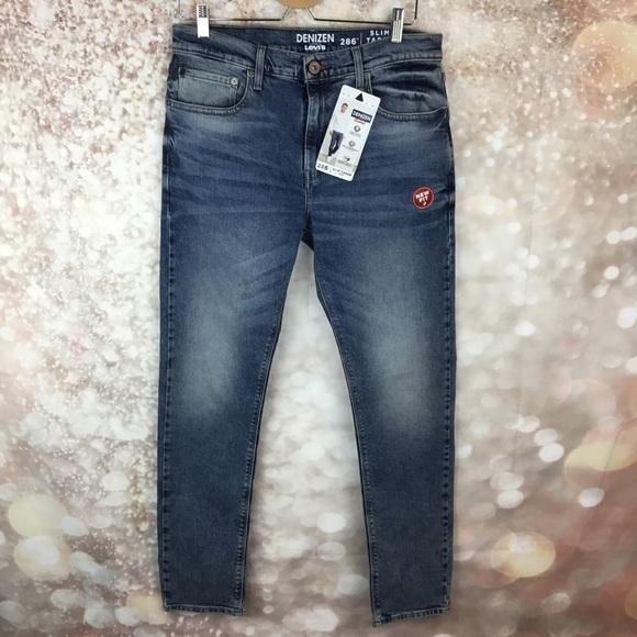 0e47f49159e Levi's Jeans | Levis Denizen Mens 286 Slim Taper Fit 33 | Poshmark